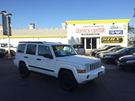 Sport Utility 2006 Jeep Commander 4wd With 4 Door In San Diego