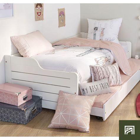 6408cb553bfbb Lit banquette junior avec tiroir lit pour 2 couchages frene et mdf 16  couleurs - 4 dimensions au choix - artik par trebol
