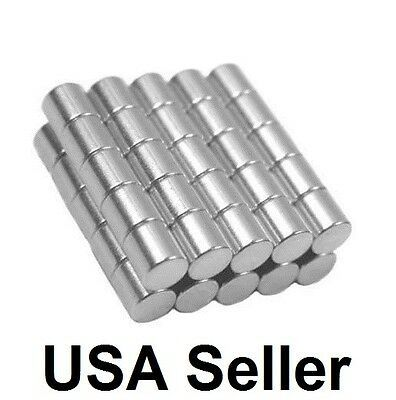 1 4 X 1 4 Inch Strong Neodymium Rare Earth Cylinder Magnets N48 Wholesale Magnetic Metals Neodymium Magnets Disc Magnet