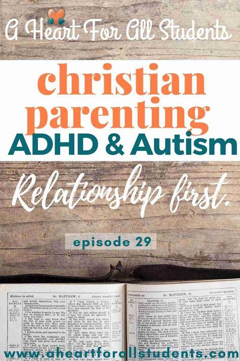 Christian Discipline ADHD | Autism | Executive Functioning