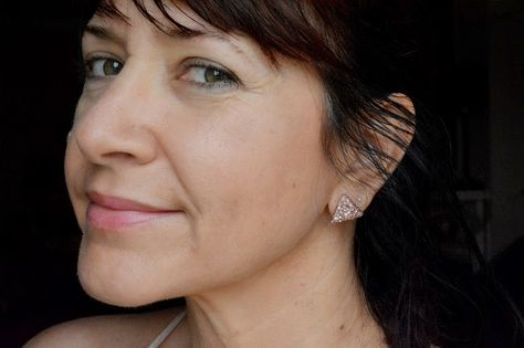 WobiSobi: Glitter Triangle Earrings, DIY
