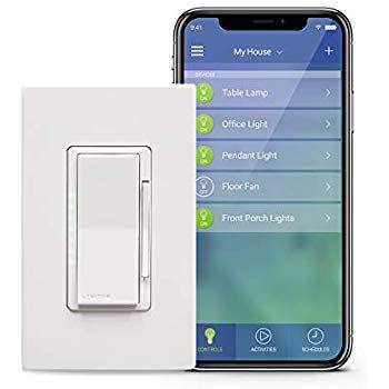 Amazon Com Tp Link Smart Plug Wifi Control De Dispositivos Desde Cualquier Lugar Hs100 Funciona Con Amazon A Light Switch Works With Alexa Smart Lighting