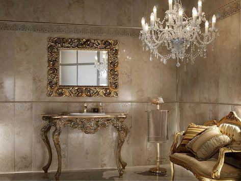 Risultati immagini per ceramiche bagno stile barocco | Arredamento d ...