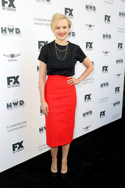 Alison Pill attends FX Networks' celebration of their Emmy nominees.