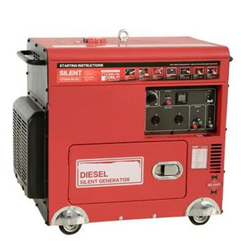 Hot Sale Ac Three Phase 5000 Watt Silent Diesel Generator Diesel Generators Gas Generator Lpg Generator