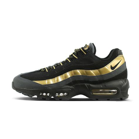 538416 007 nike men's air max 95 primium blackgold | Nike