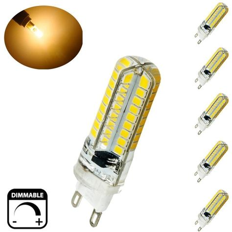 4 10 X G4 G9 Dimmable LED Light Capsule Bulbs Replace Halogen Lamp SMD2835 White