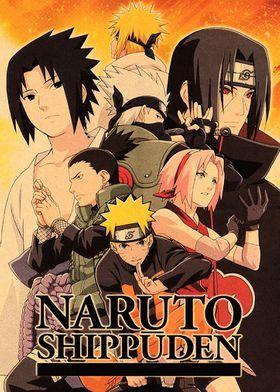 Naruto Posters Prints On Metal Displate Retro Poster Poster Prints Anime Wall Art