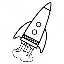Uzay Roket Boyama Arsivleri Boyama Sayfalari Gezegenler
