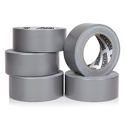 Sponsored Ebay Heavy Duty Silver Duct Tape 5 Roll Multi Pack Industrial Lot 30 Yards X 2 Silver Duct Tape Duct Tape Leather Repair