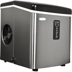 Luma Comfort 28 Lb Portable Freestanding Clear Ice Maker In