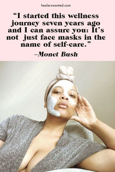 Wellness advocate, creative agency owner and mother Monet Bush on her healing journey. // HEALERSWANTED.COM #wellness #selfcare #quote