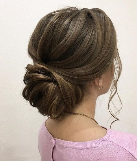 Beautiful Updo Hairstyles Upstyles Elegant Updo Chignon Bridal Updo Hairstyles Wedding Hairstyle Hair Styles Medium Length Hair Styles Medium Hair Styles