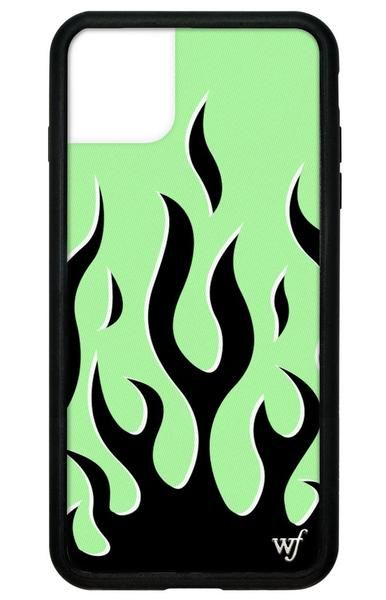 Neon Flames Iphone 11 Pro Max Case In 2020 Wildflower Phone Cases Wildflower Cases Iphone Phone Cases