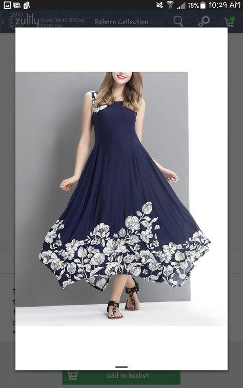 66772f9e7c Look at this  zulilyfind! Navy Floral Sleeveless Handkerchief Maxi Dress -  Plus  zulilyfinds