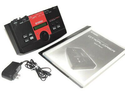 Yamaha Dtxplorer Drum Module With Power Adapter Manual And Drums Power Adapter Power