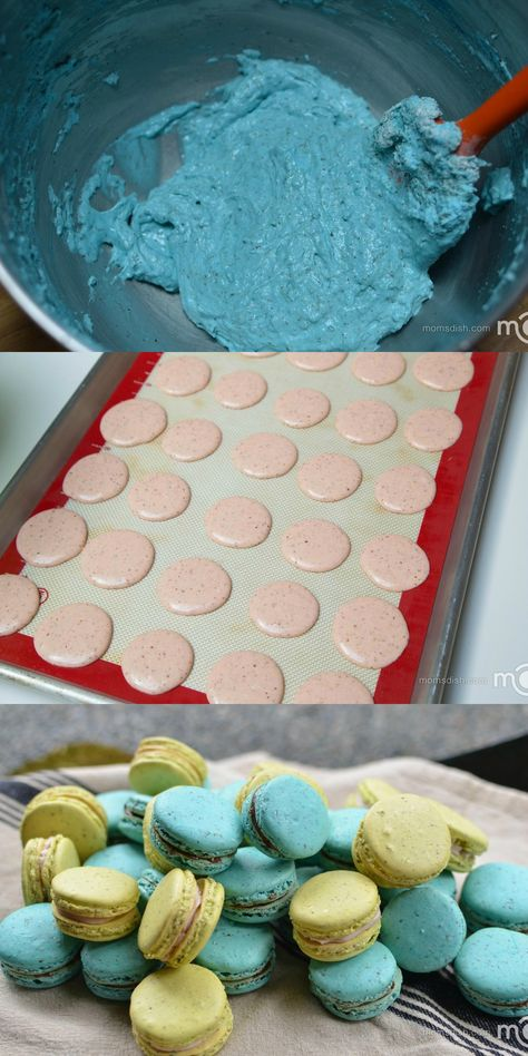 An easy step by step photo recipe for Perfect Macarons.