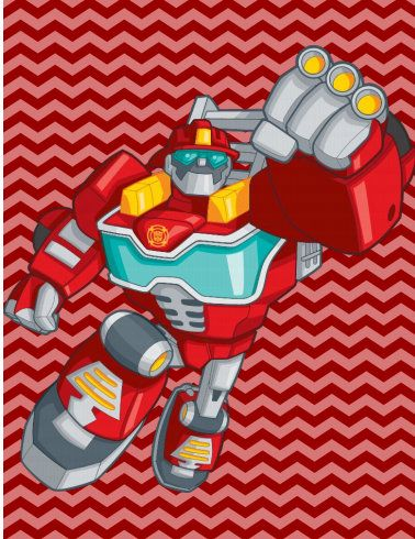 Printable Rescue Bots Note Cards INSTANT DOWNLOAD | big kid