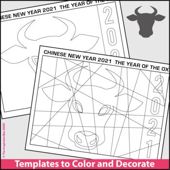Chinese New Year Activities 2021 Free Ox Coloring Pages Chinese New Year Activities New Year Coloring Pages Chinese New Year Crafts For Kids