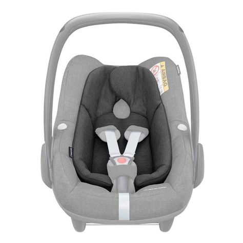 Maxi Cosi Pebble Plus Infant Seat Inlay Nomad Black Baby Car Seats Infant Baby Center