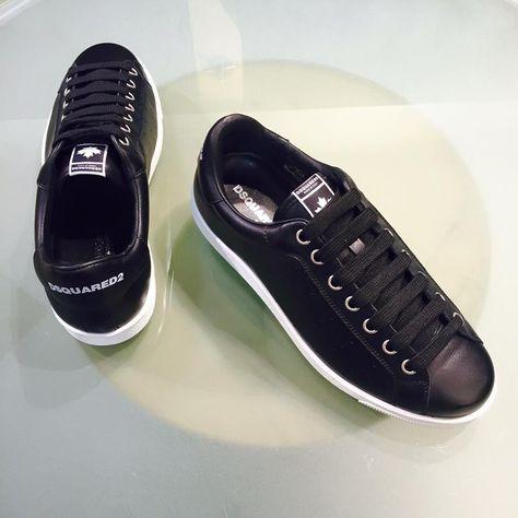 Dsquared2Sneaker Santa Monica leather