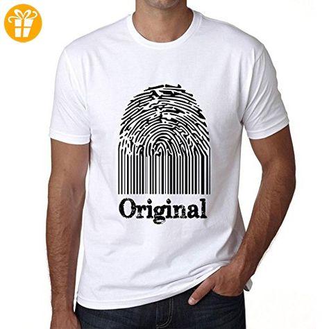 Original Fingerprint, tshirt herren, tshirt mit worten, geschenke tshirt - Shirts mit spruch (*Partner-Link)