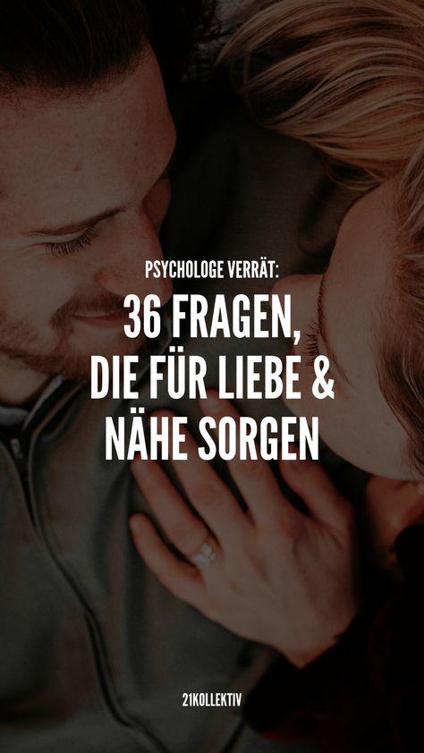 Es klingt verrückt, aber ein Psychologe hat 36 aufgelistet, die für Liebe und Intimität sorgen sollen – sogar bei Fremden! Probier es mal aus... | 21kollektiv