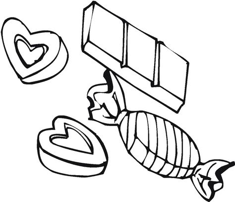 Coloring Pictures Chocolate Candy Coloring Pages | candyland ...