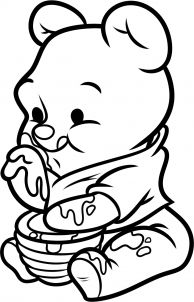 Cute Winnie The Pooh Drawings Google Search Dibujos Hermosos