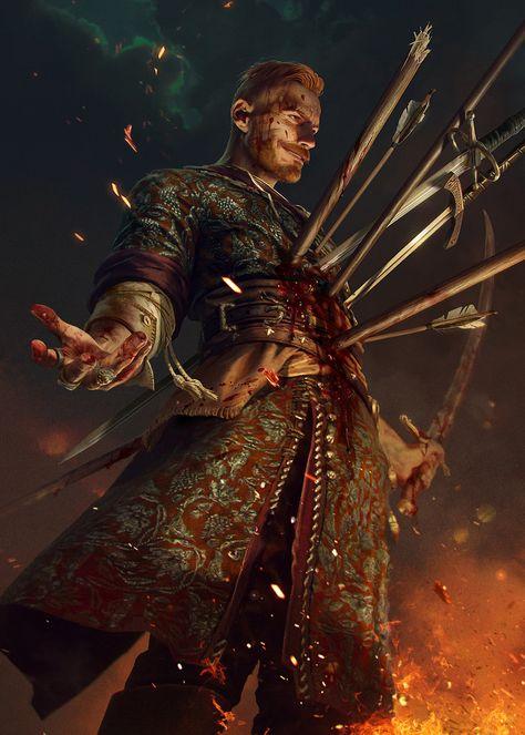 Olgierd - Witcher 3