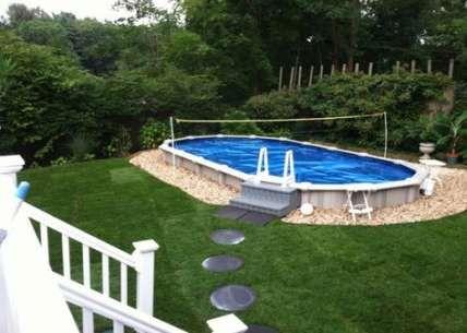 Landscaping Backyard Ideas On A Budget Decks 19 Best Ideas Backyard Pool Landscaping Backyard Pool Pool Landscaping