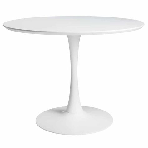 Round Dining Table White D 100cm 100cm Dining Round Table