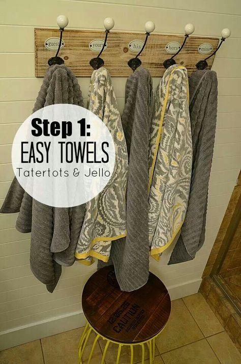 Towel organization