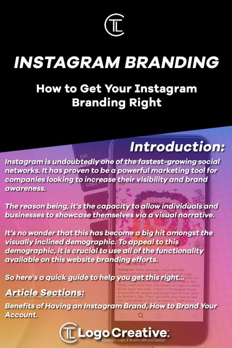 How to Get Your Instagram Branding Right