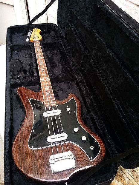 Alvaro Bartolini Welson Eko Bass 4 Strings Vinyl 1963 Hardcase New Atypic Guitars Reverb Guitar Bass Bass Guitar