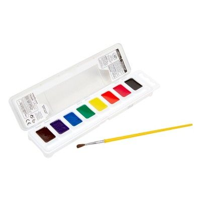 Crayola Watercolor Paints With Brush Washable 8ct Watercolour