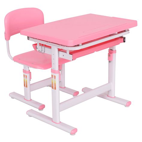 Wondrous Height Adjustable Children Desk Chair Set Furniture Gmtry Best Dining Table And Chair Ideas Images Gmtryco