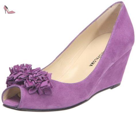 18442 369 Taco 491 Forrado 11078, Sandales femme - Violet (Ante morado), 41 EUStudio Paloma