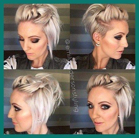 20 Latest What Is An Undercut Bob Hairstyle Photo In 2020 Short Hair Tutorial Hair Styles Short Hair Styles