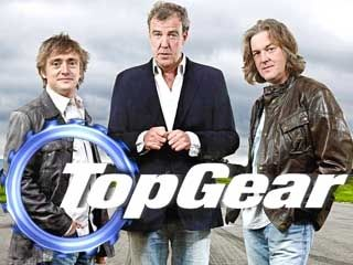 (From the left) Richard Hammond, Jeremy Clarkson, James May.