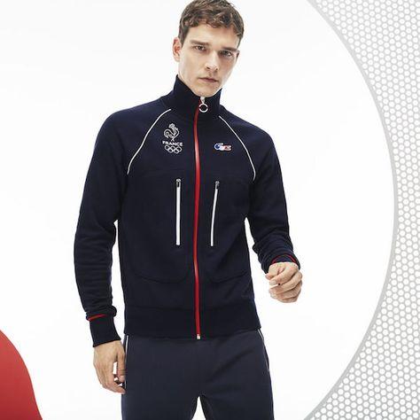 Lacoste habille l'équipe de France olympique