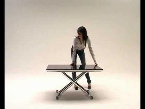 Tavolo Allungabile Lg Lesmo.Tavolino Trasformabile Magic By Ozzio Design Transformable Table