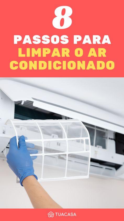 Ar condicionado: como realizar a limpeza em casa