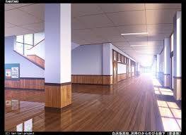 Kartinki Po Zaprosu Anime School Hallway Background Anime Places