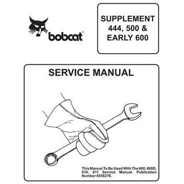 Bobcat 751 BICS Loader Service Shop Repair Manual 514711001 514911001 5//97