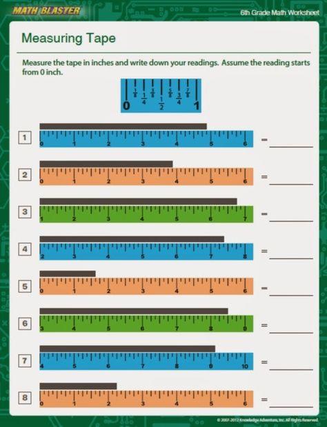 Warren Sparrow Measuring Tape Math Measurement Worksheets Christmas Math Worksheets Word Problem Worksheets Inches reading tape measure worksheet