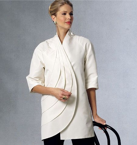 Purchase Vogue Patterns 9096 Misses' Jacket and read its pattern reviews. Find other Coat/Jacket, sewing patterns...
