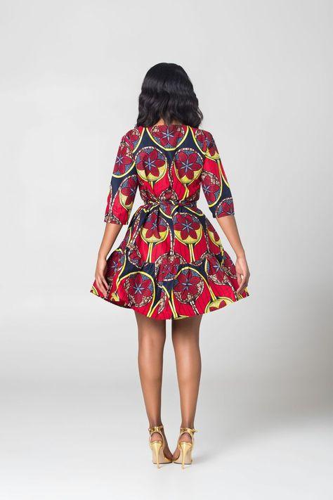 20 jolies robes en pagne de chez Grass-fields   Silence Brisé