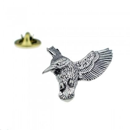 Kingfisher Lapel Pin Badge