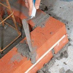 Construire Un Poteau De Brique En Beton Arme Brique Beton Arme Poteau